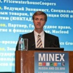 John Campbell, PwC, speaking at MINEX 2010