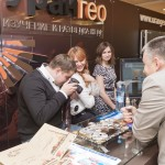 Urangeo Booth, MINEX Russia, Moscow, 2011