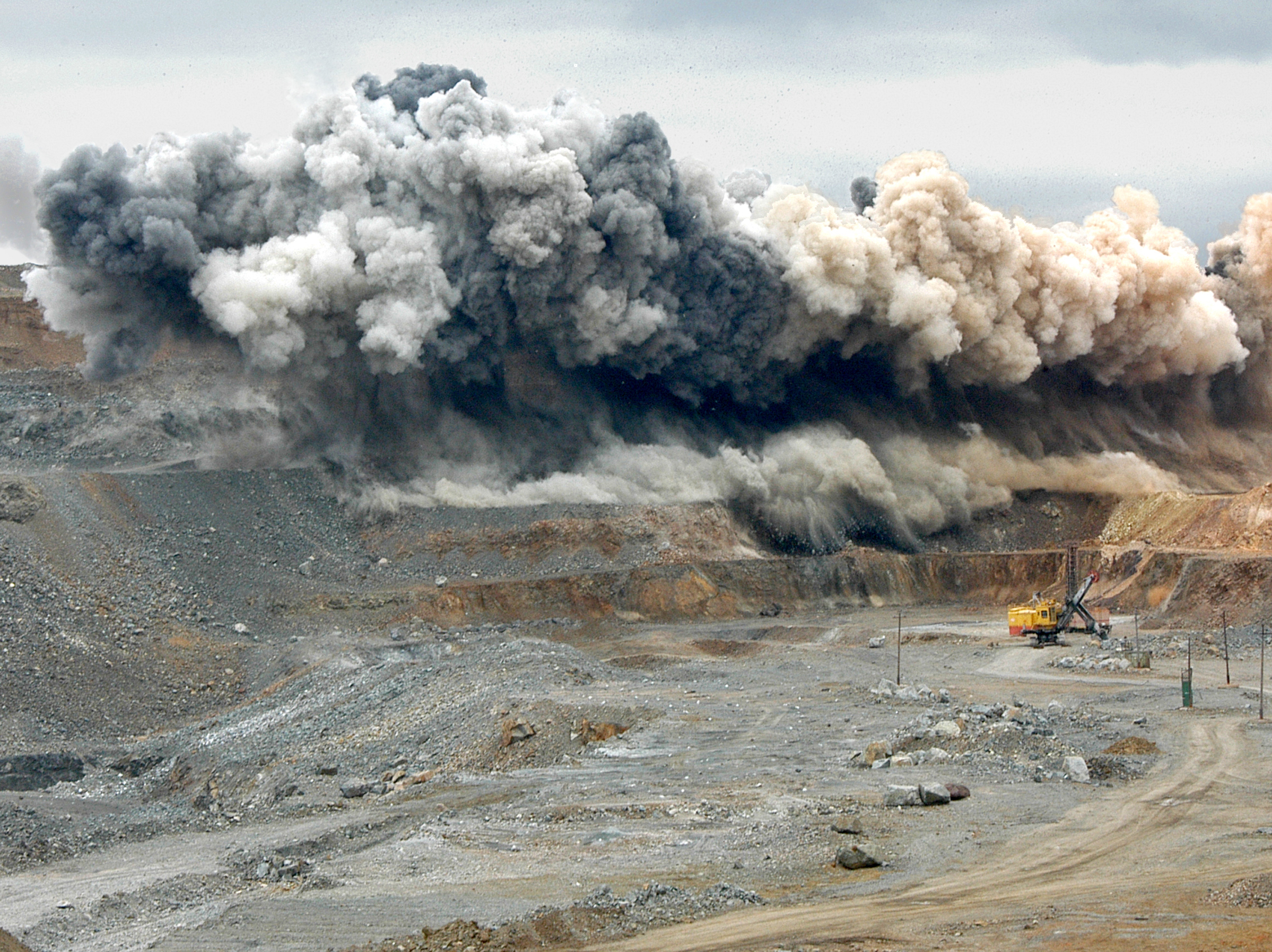 Blasting Operations At The Open Pit Minex Russia 2013